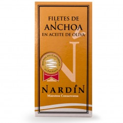 Filete de anchoa en aceite de oliva 50 gramos