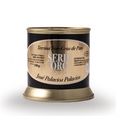 Tarrina de foie-gras de pato José Palacios
