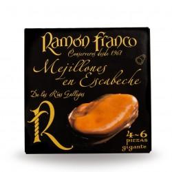 Mejillon gigante ramon franco 4/6 piezas