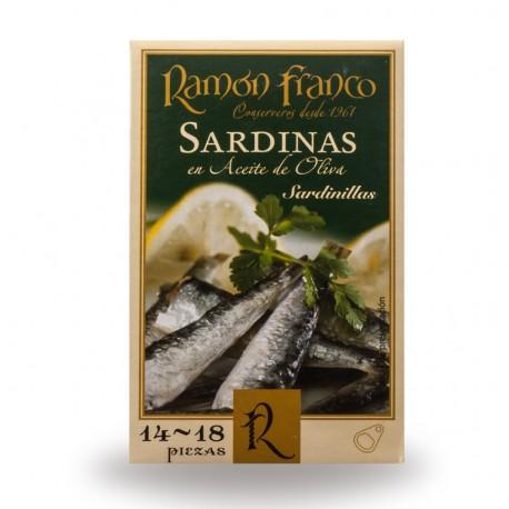 Sardinillas 14/18 piezas en aceite de oliva