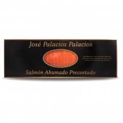 Salmón Ahumado José Palacios precortado 1 kg