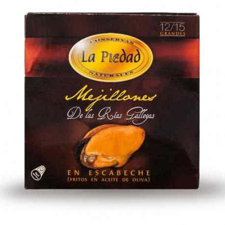 Mejillon La Piedad 12/15 piezas