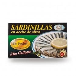 Sardinas en acetite de oliva 20/25 piezas