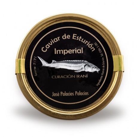 Caviar de Esturión Imperial 00 serie oro