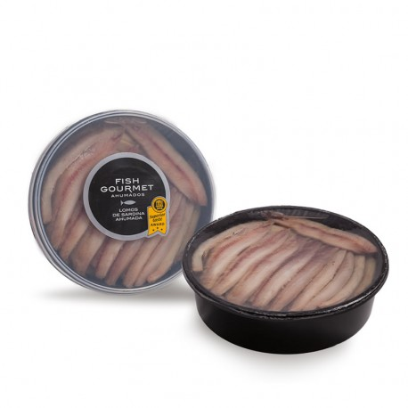 Lomo de sardina ahumada fish gourmet 700 gramos